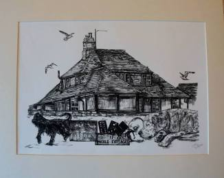 Piece created to commemorate their life at Mickle Cottage