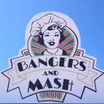 Bangers and Mash Sign