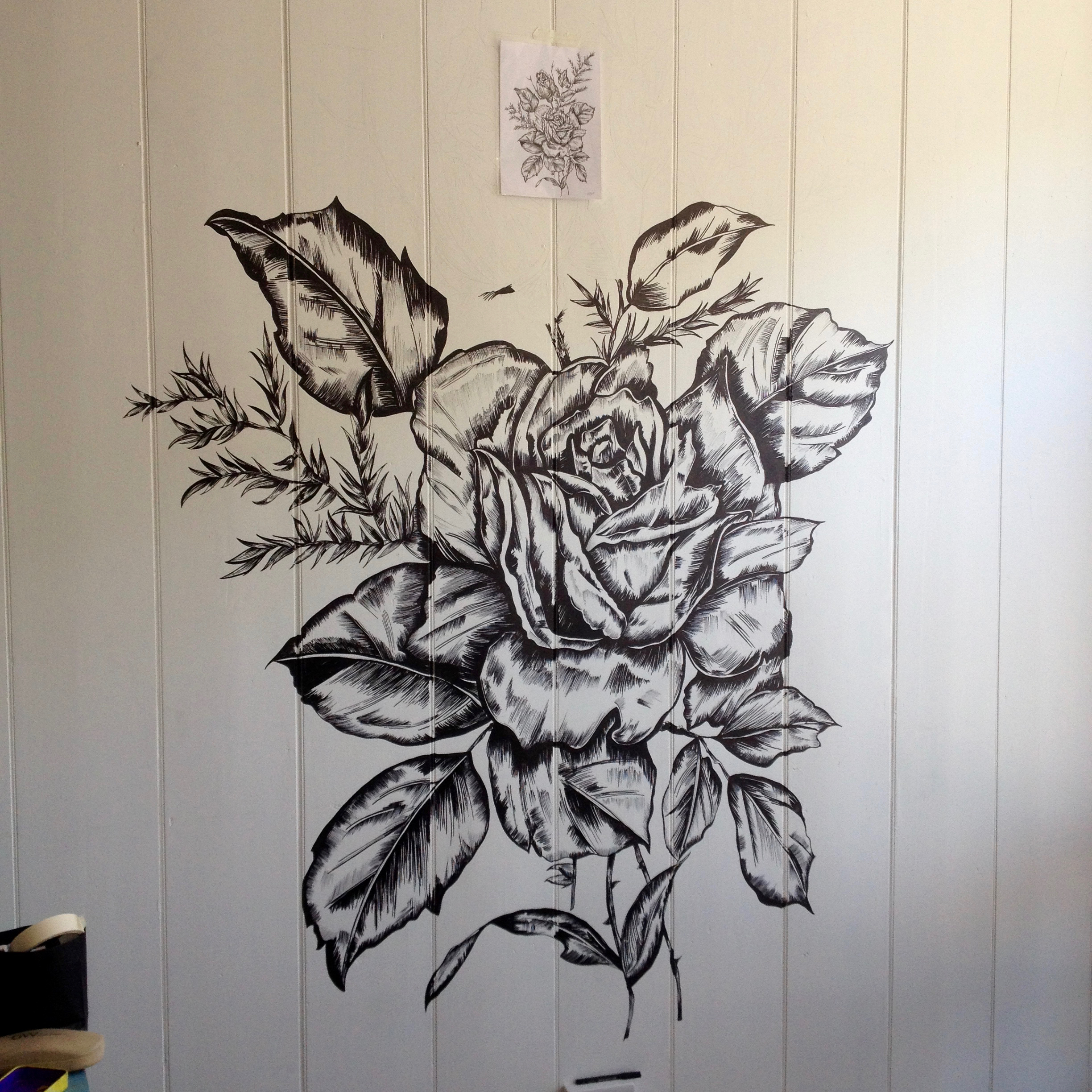 Wall Piece Development The Tea House Ventnor Katy Rose