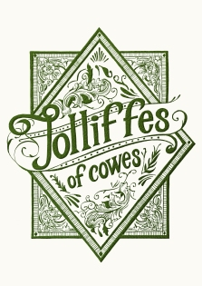 Really excited to share my latest commission, a rebrand for Jolliffes of Cowes Inspired by the beautiful ‪#‎artnouveau‬ glass adorning the building, I created these ‪#‎handdrawn‬ designs for the new speakeasy of the Isle of Wight!