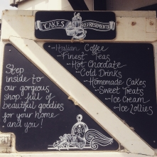 I was commissioned by the gorgeous Cove Coffee Shop at Steephill Cove to create a new identity for the brand featuring illustrations inspired by the cove. I created a hand drawn logo and a variety of hand drawn chalkboards to promote and advertise the business.